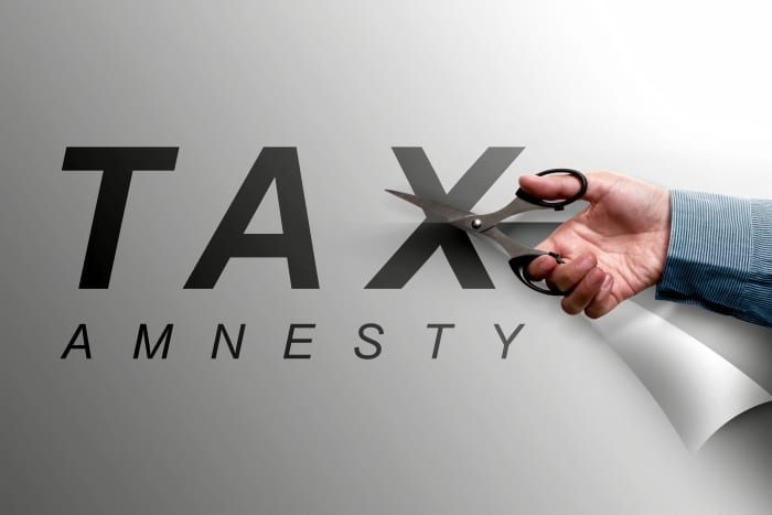 Tax Amnesty To End November 30