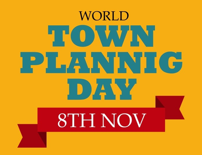 World Town Planning Day Tomorrow