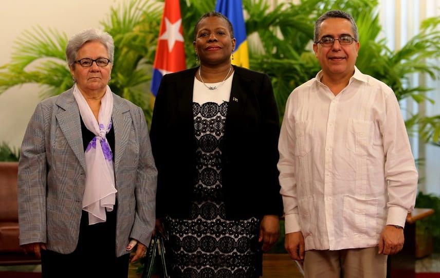 B'dos' Ambassador To Cuba Presents Credentials