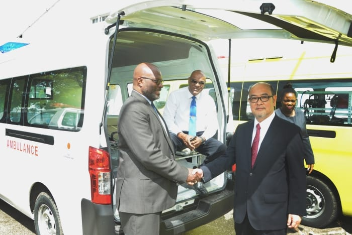 Japan Donates Equipment To Barbados