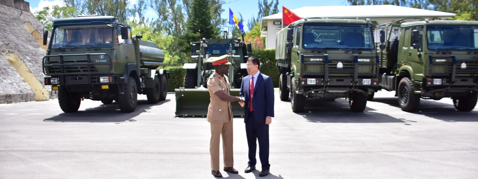 BDF Receives Equipment From China