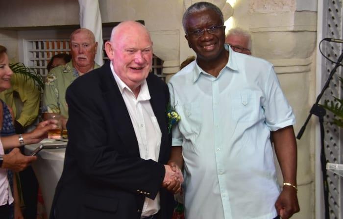 Prime Minister Stuart Thanks Repeat Visitors