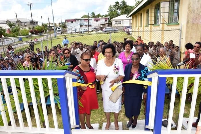 Soroptimists Present Gazebo To St. Judes Primary