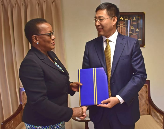 China & Barbados Pledge To Deepen Relations