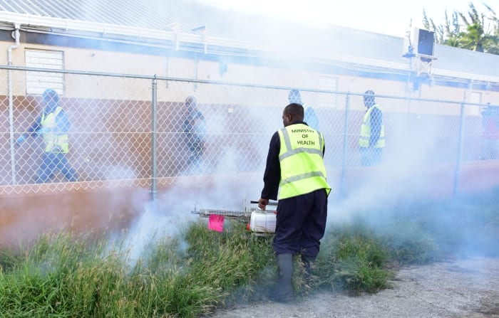 Special Fogging Exercise in Christ Church