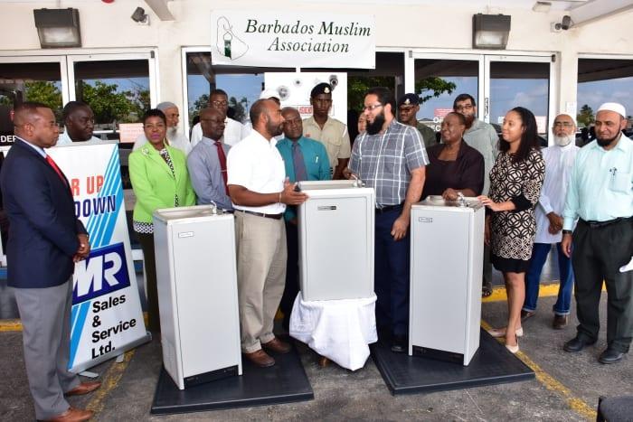 Muslim Association Donates Water Coolers
