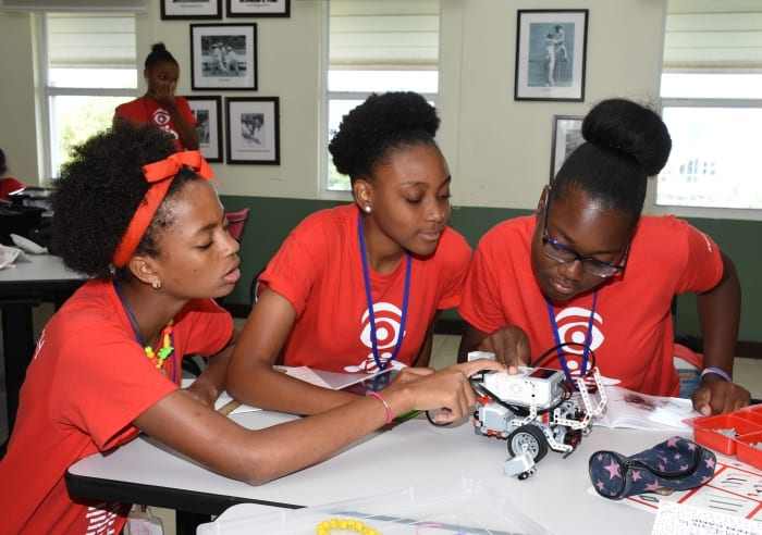 Over Thirty Girls Take Part In IBM STEM Camp