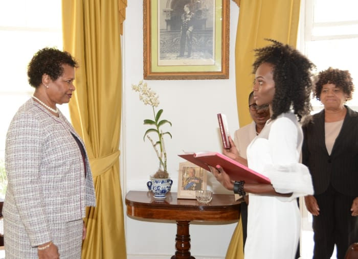 Second Opposition Senator Sworn In