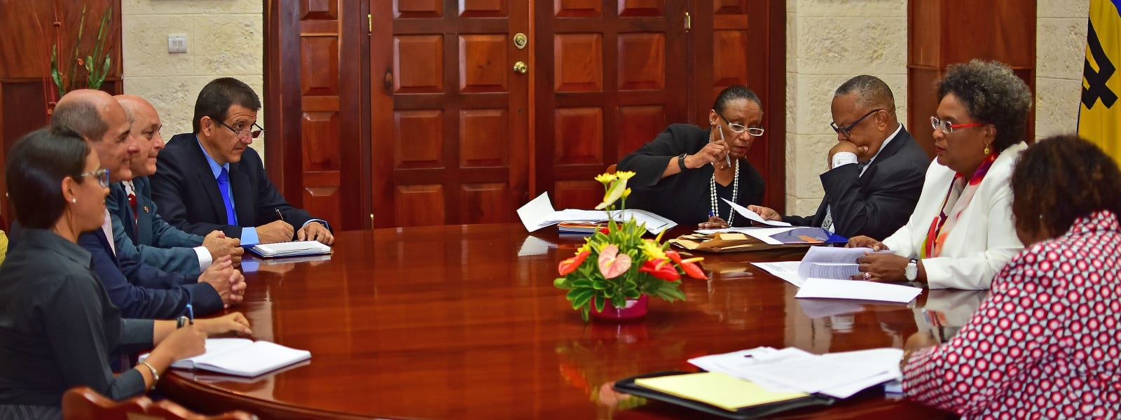 Further Collaboration Between Barbados & Cuba
