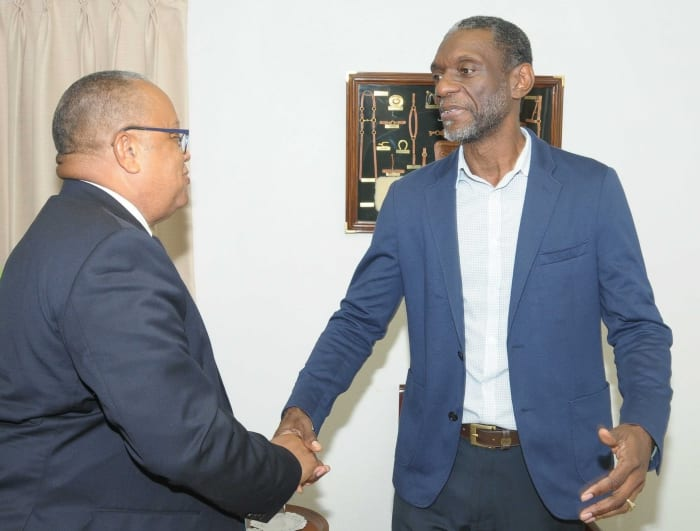 Foreign Affairs Minister Meets With CXC's Registrar