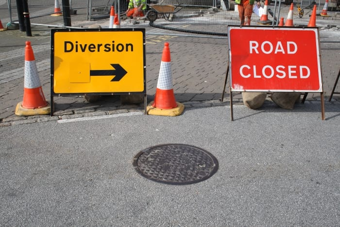 Road Closures & Diversions In Christ Church