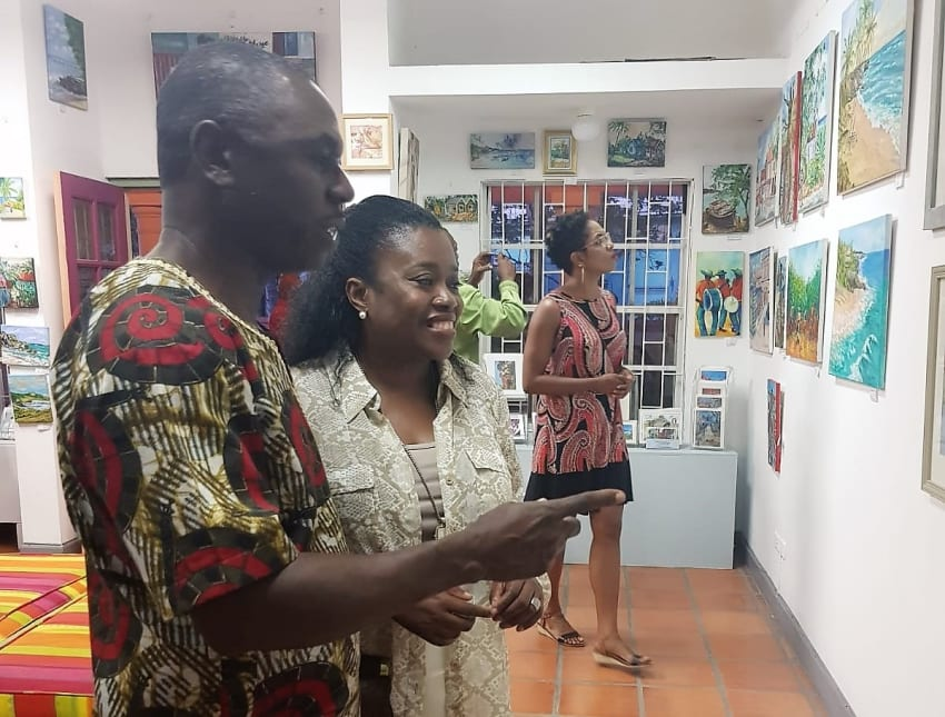 Visual Arts Exhibition In Pelican Village