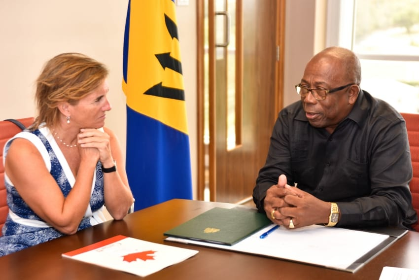 Environment Minister Meets Canadian Envoy