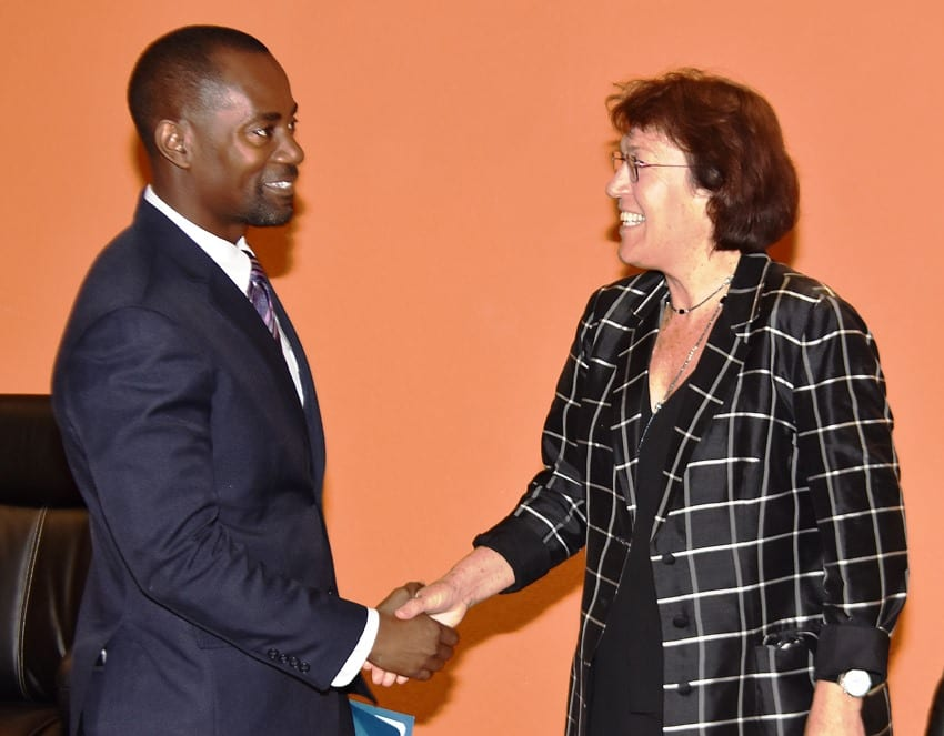 New Zealand High Commissioner Visits Minister Humphrey