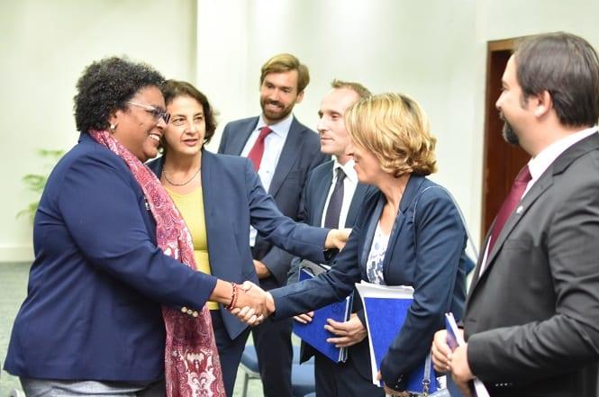 PM Meets With EU Ambassador
