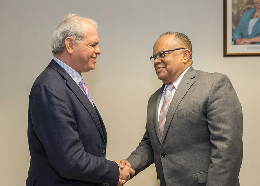 Barbados Supports UNODC's Work