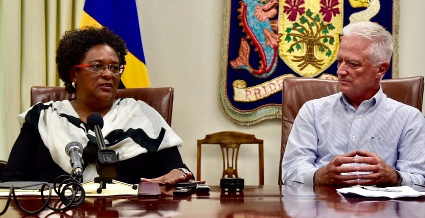 Prime Minister Mottley Welcomes New Investment