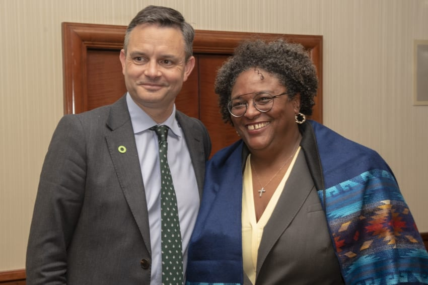 Several Meetings For PM Mottley At US Summit
