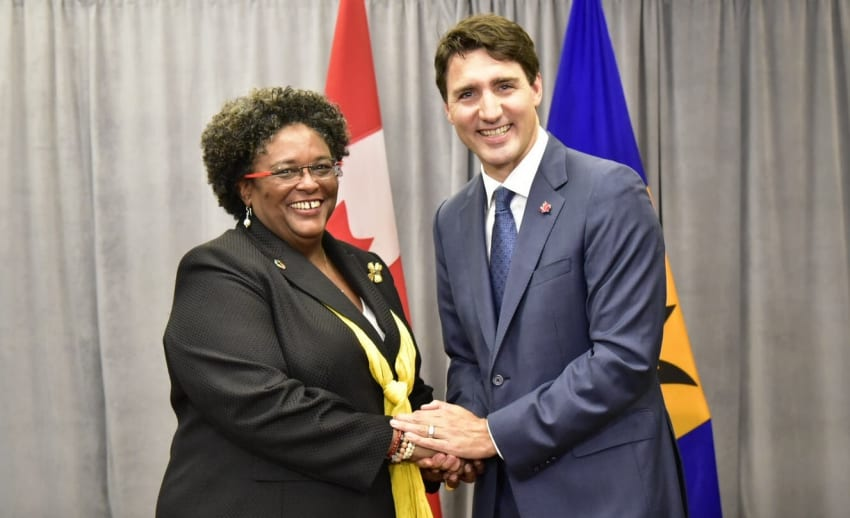 Barbados & Canada Hold Bilateral Meeting