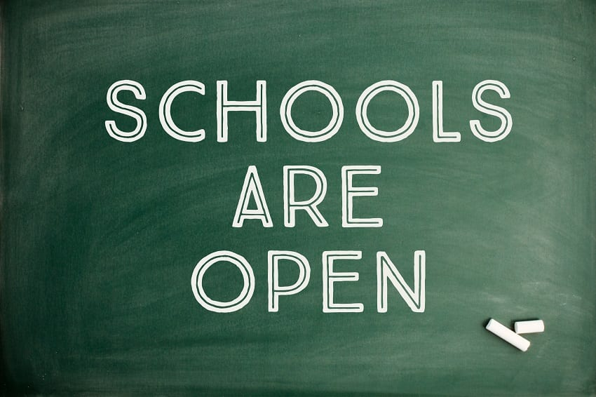 Education Ministry: All Schools Open Tomorrow