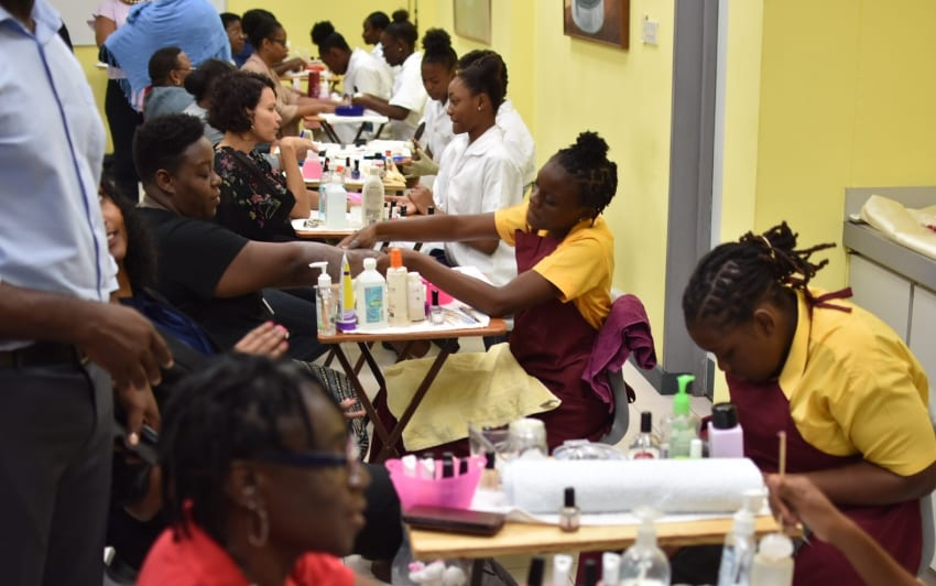 Education Ministry Staff Pampered At Health Fair