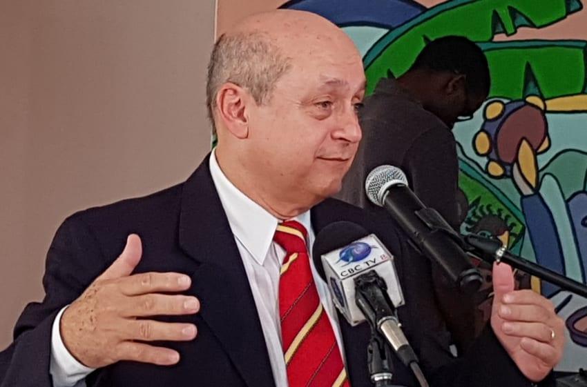 Outgoing Ambassador Promotes Caribbean Unity