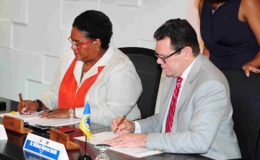 Barbados Receives US $75 Million Loan