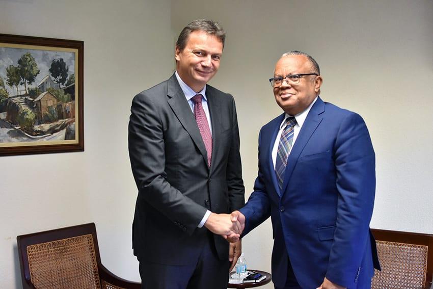 Barbados And Switzerland Discuss Relations
