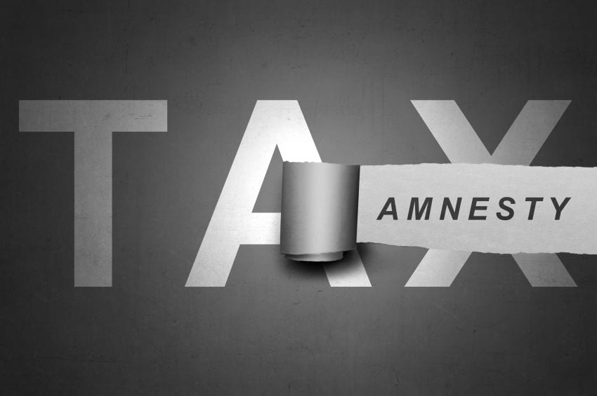 Extension Granted for Tax Amnesty
