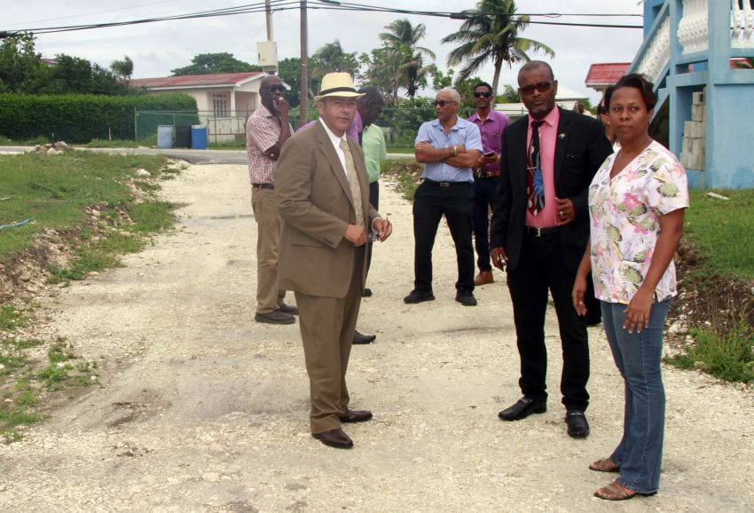 Road Works Coming In St. Philip