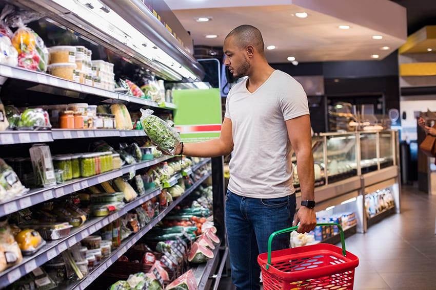 Supermarket Shopping Alternatives Under Consideration