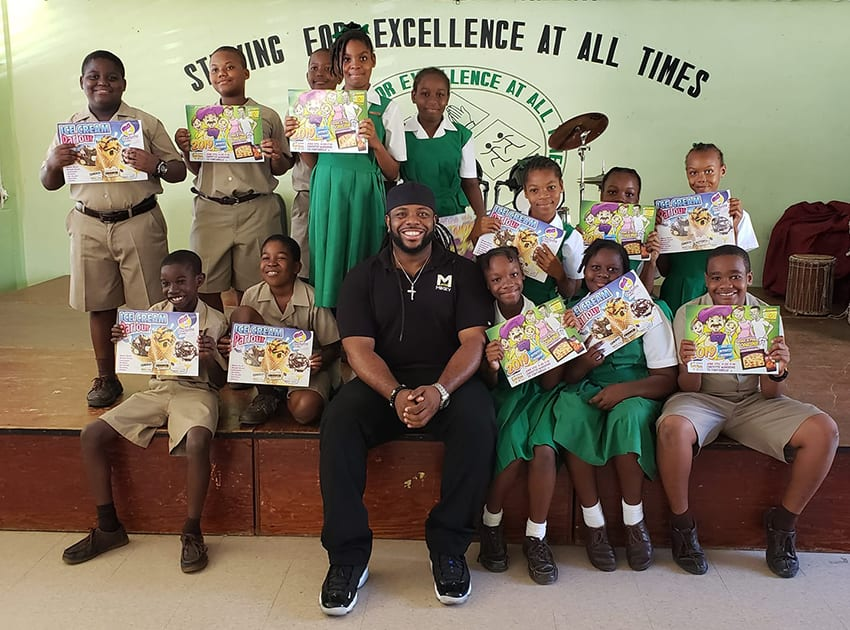 Team Mikey Charity Rewarding Academic Success