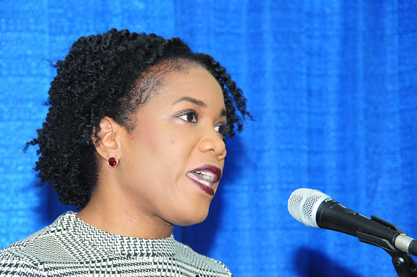 Minister Caddle Encourages Gender Sensitive Policies