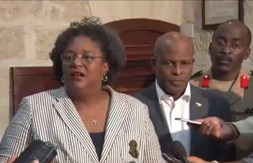 """""""Not Bout Here!"""" Says Prime Minister Mottley"""