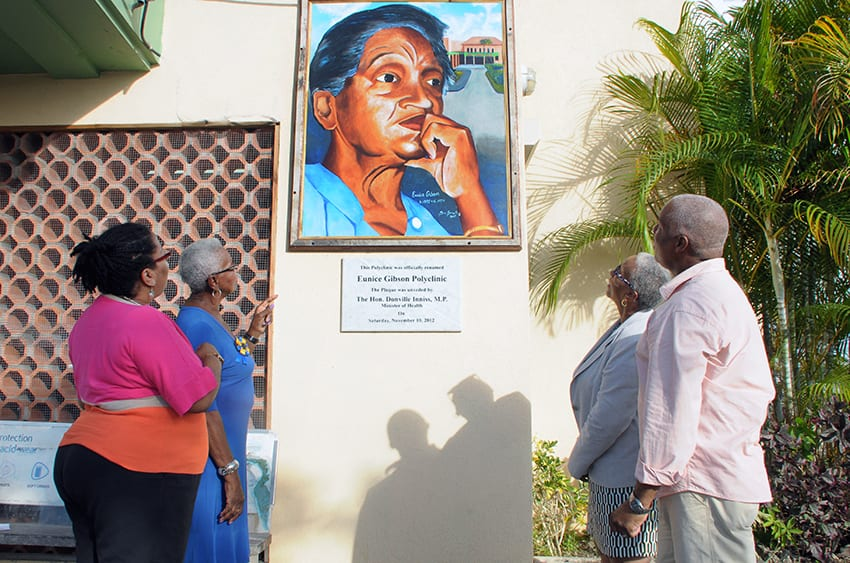 Eunice Gibson Portrait Donated To Polyclinic