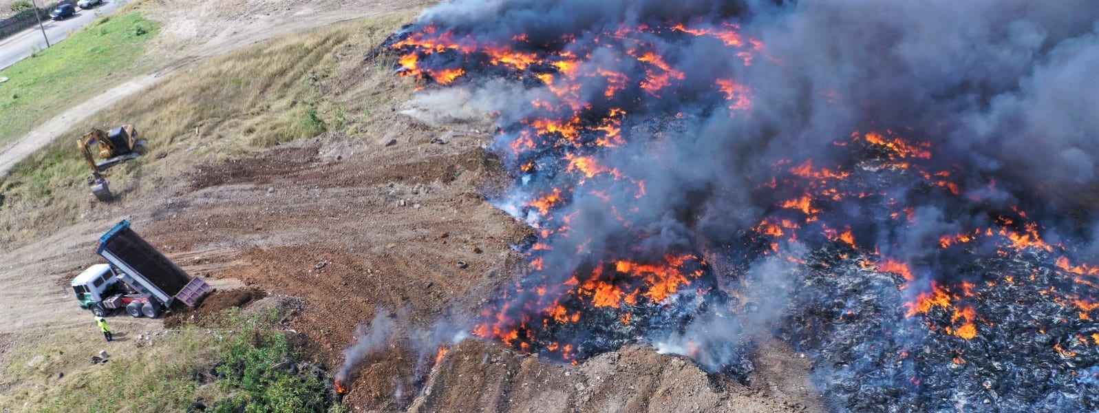 Fire At Mangrove Pond Landfill Under Control