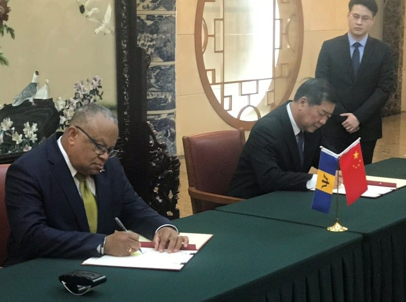 Barbados And China Agree To Deepen Cooperation