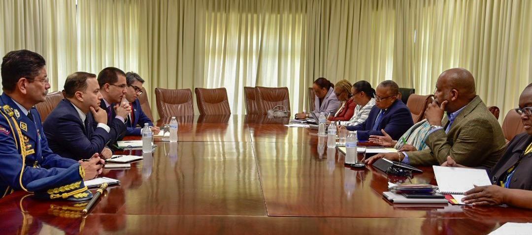 Barbados Working To Resolve Venezuela Situation