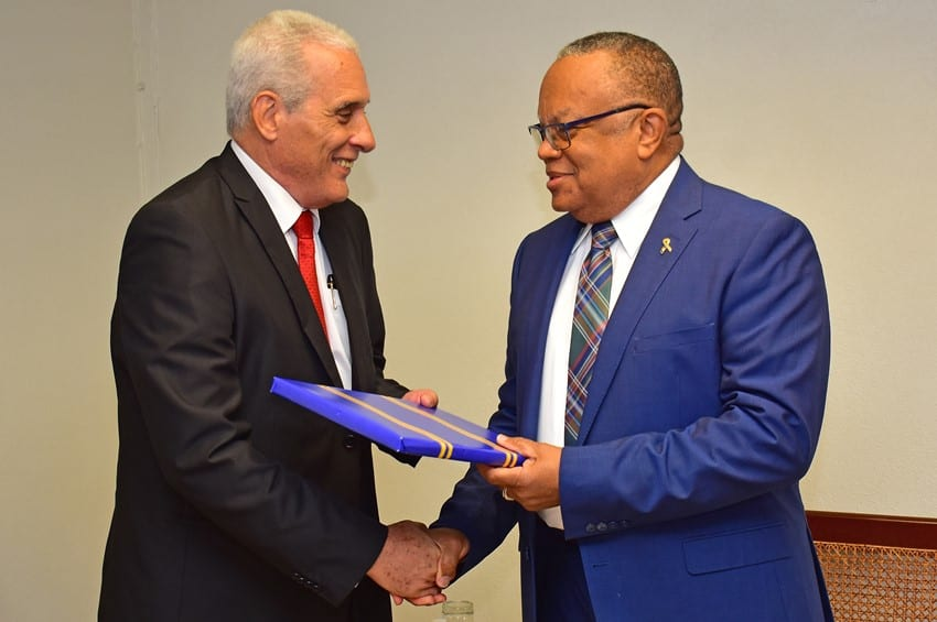 Commitment To Strengthening Cuba-Barbados Relations