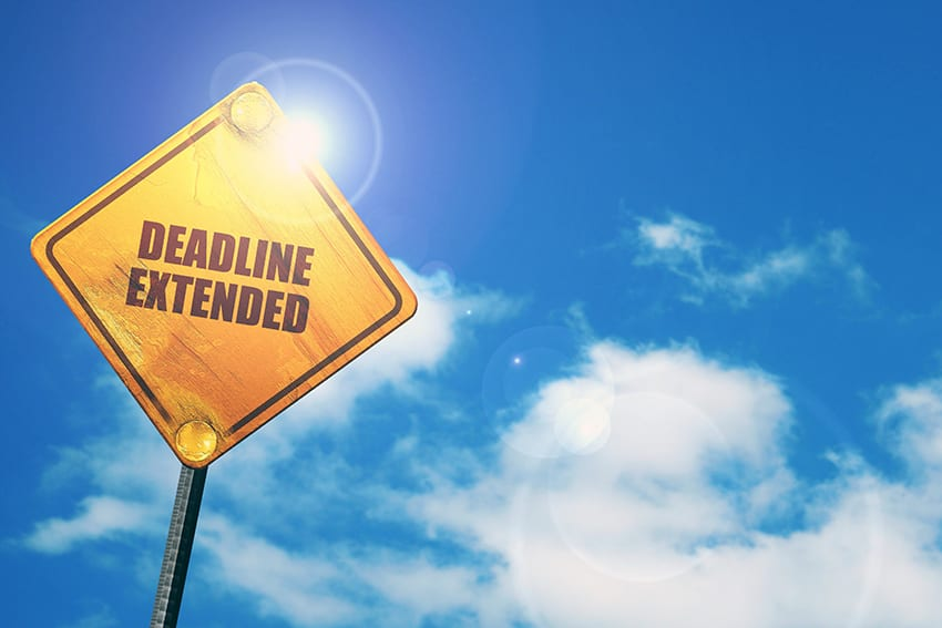 Deadline Extended – Notices Of Appointment Of Service Providers