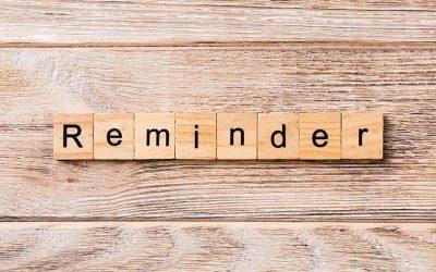 Reminder: BSS Household Listing Begins Next Week