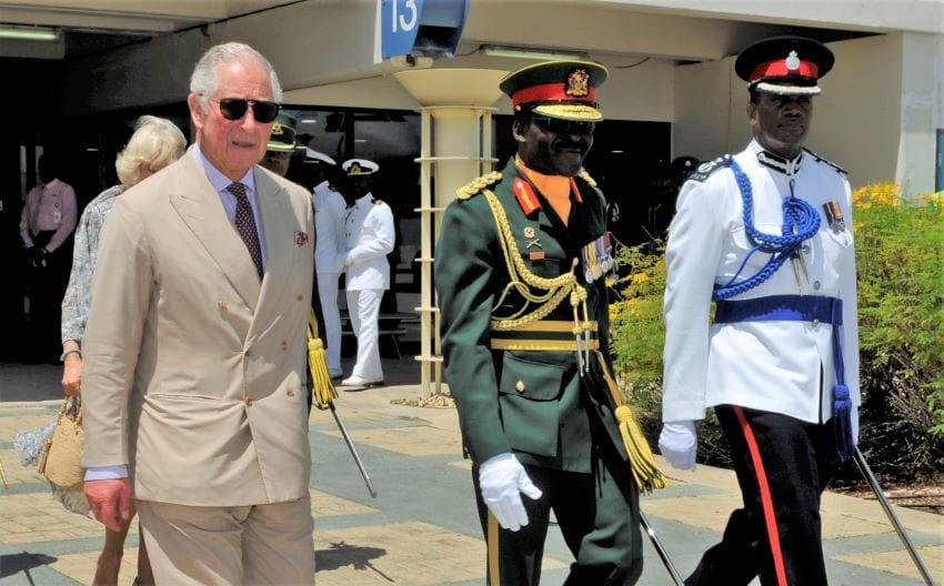 Royals Depart Barbados For Cuba Visit