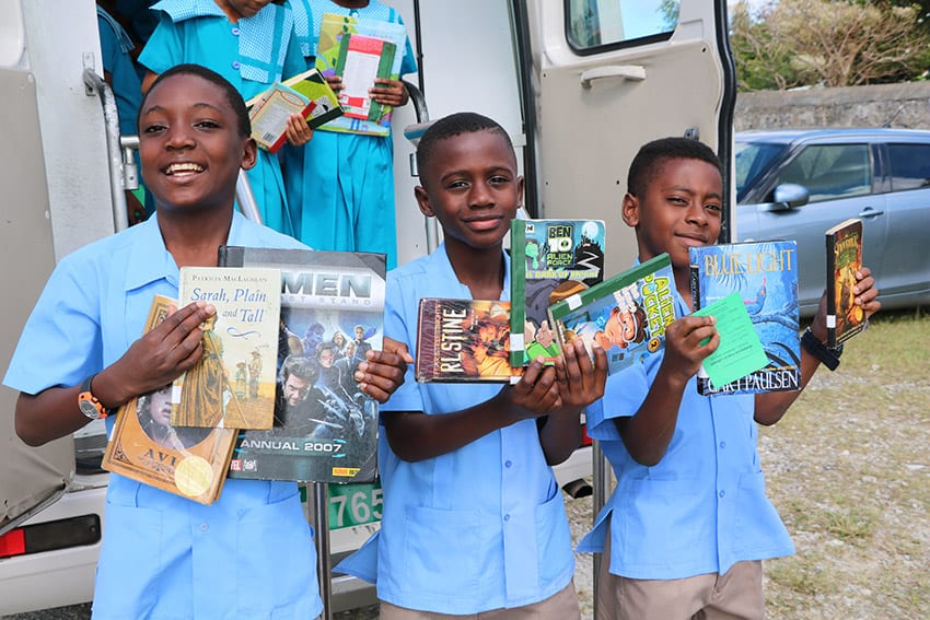 Ministry Of Education's Primary School Book Drive