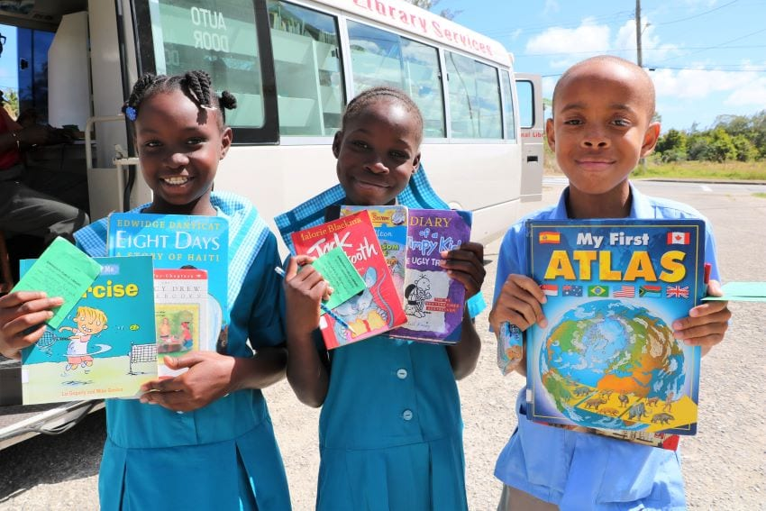 Library Mobile Unit Coming To Primary Schools