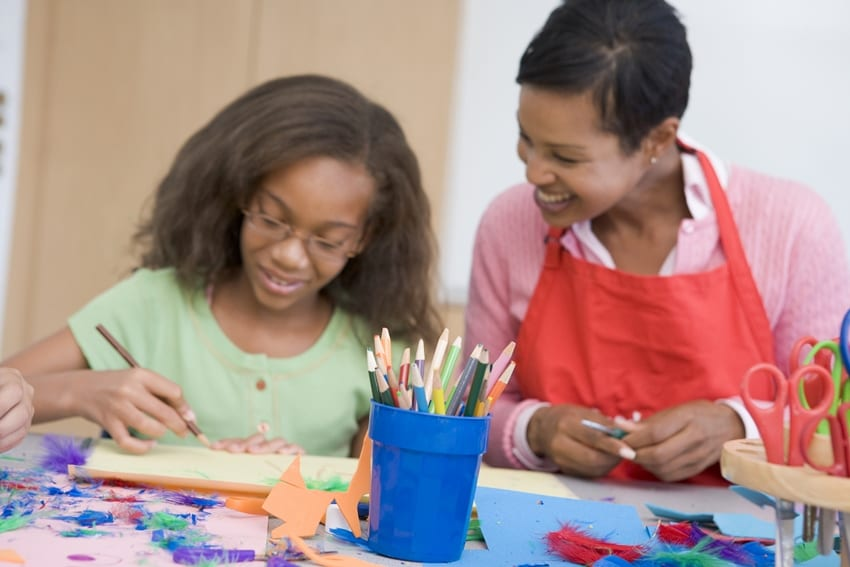 Child Month Art Competition Champions