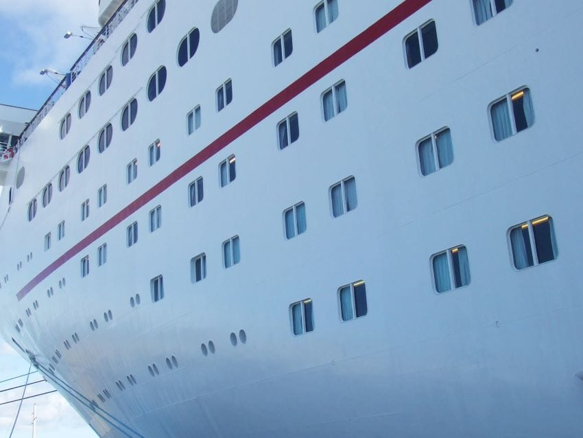 Cruise Ship Not Scheduled To Dock In Barbados