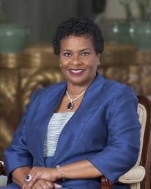 Dame Sandra Prunella Mason, GCMG, D.A., Q.C.