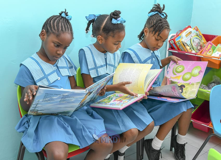 New Library For Holy Innocents Primary