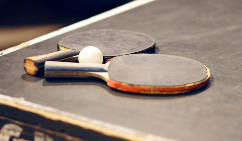 Ministers To Play Exhibition Table Tennis Match