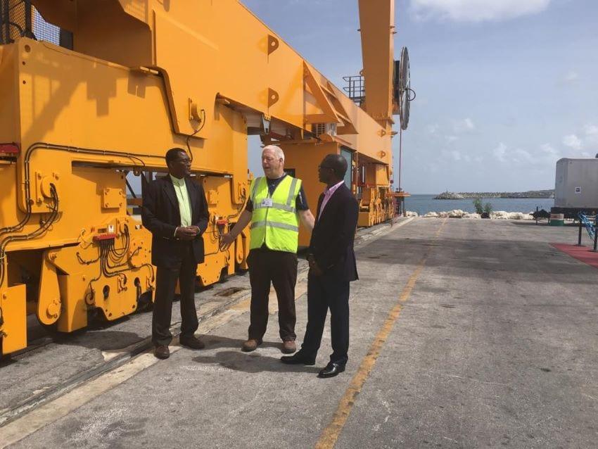 New Gantry Crane To Enhance Cargo Capacity